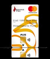 shopping karte Die Prepaid Karte der BAWAG P.S.K.   Shoppingkarte PLUS shopping karte